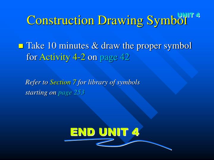 Construction Drawing Symbol
