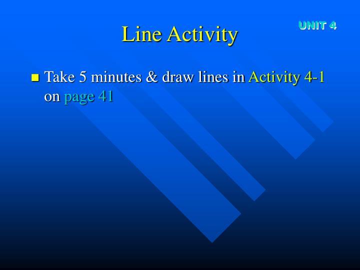 Line Activity