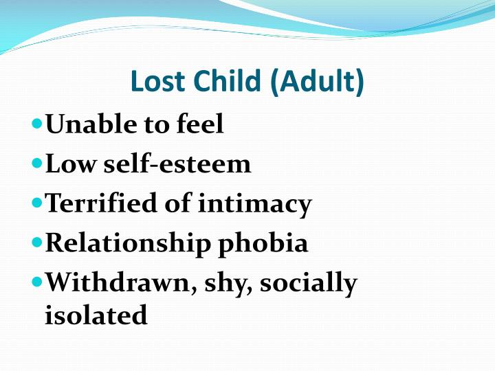 Lost Child (Adult)