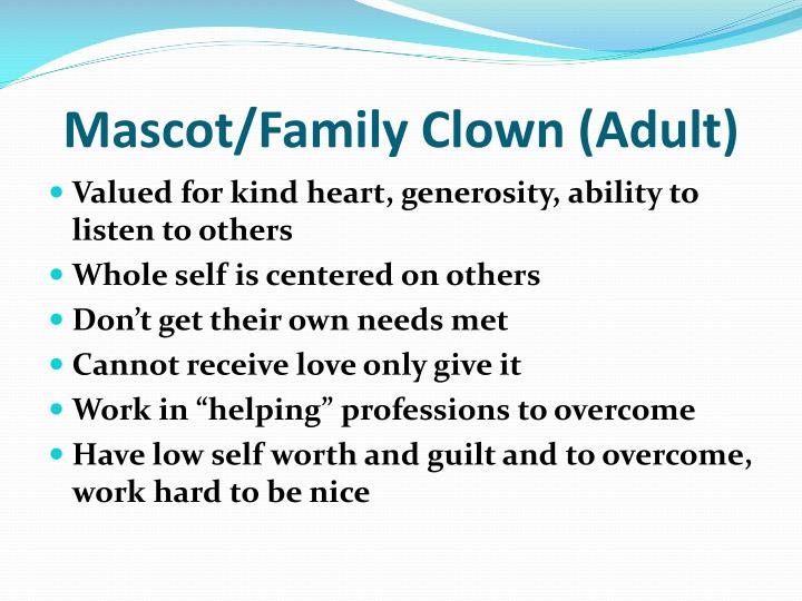 Mascot/Family Clown (Adult)