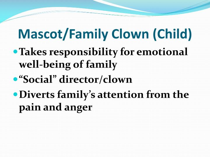Mascot/Family Clown (Child)