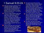 1 samuel 9 23 24