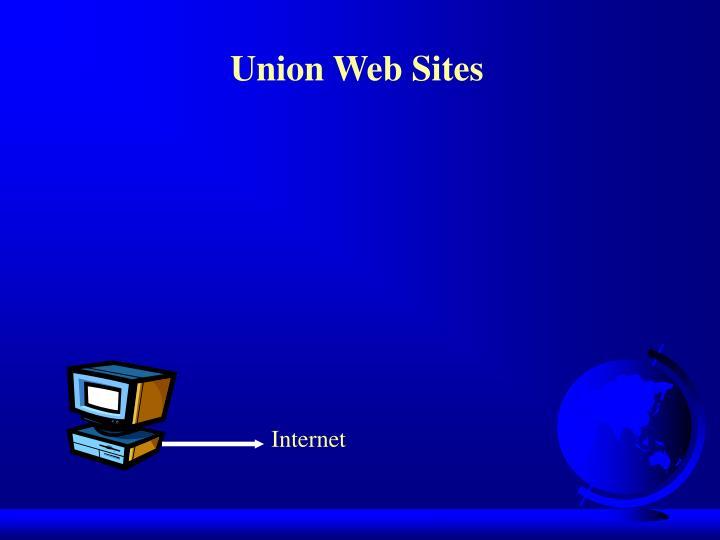 Union Web Sites