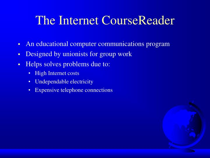 The Internet CourseReader