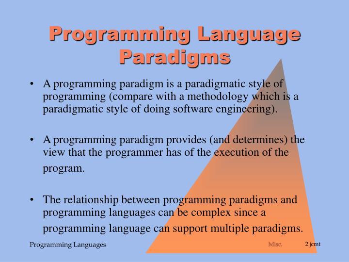 Programming Language Paradigms