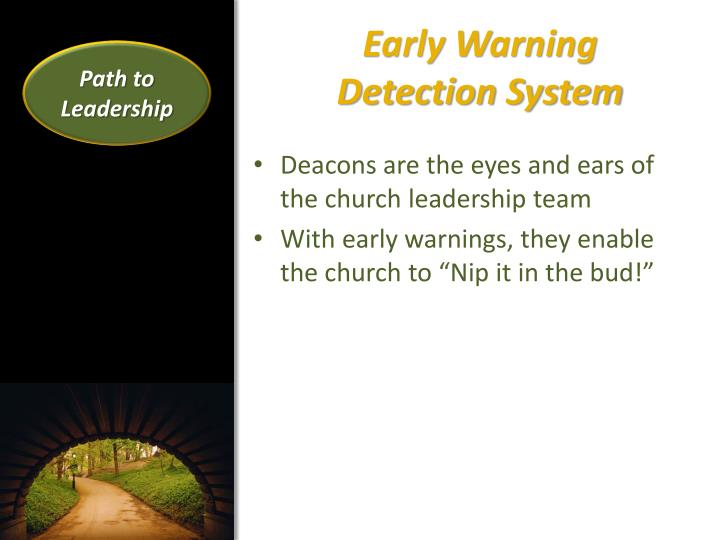 Early Warning            Detection System