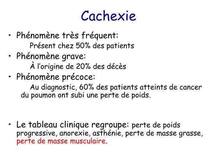 Cachexie