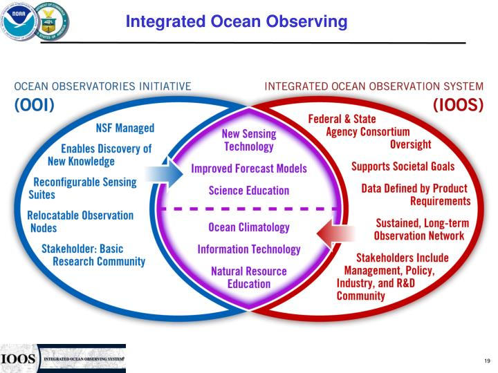 Integrated Ocean Observing
