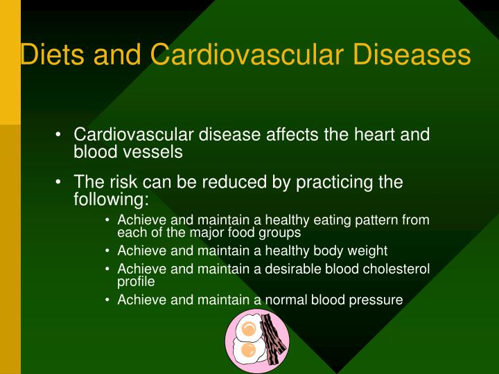 Diets and Cardiovascular Diseases
