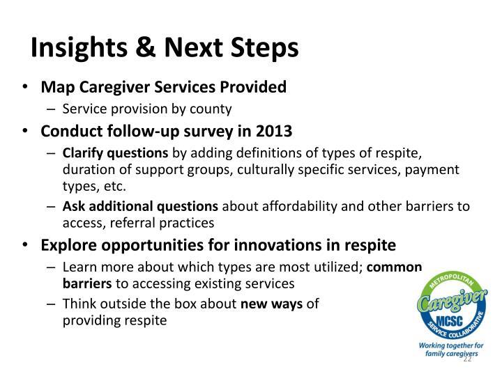 Insights & Next Steps