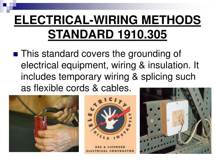 ELECTRICAL-WIRING METHODS