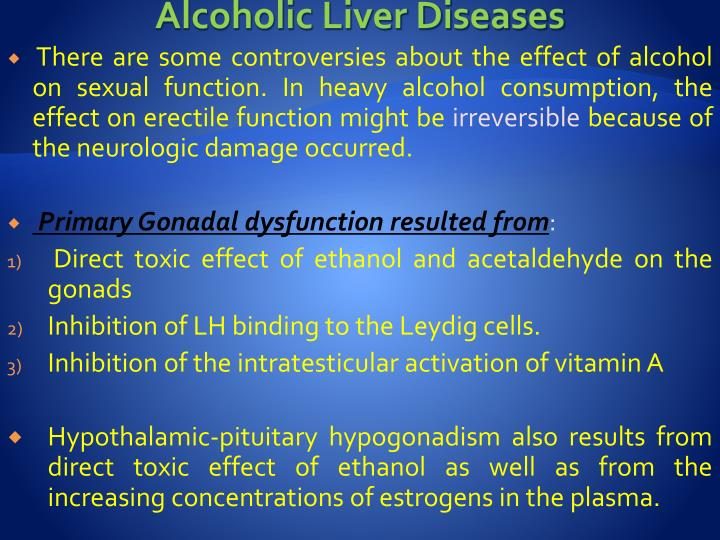Alcoholic Liver Diseases