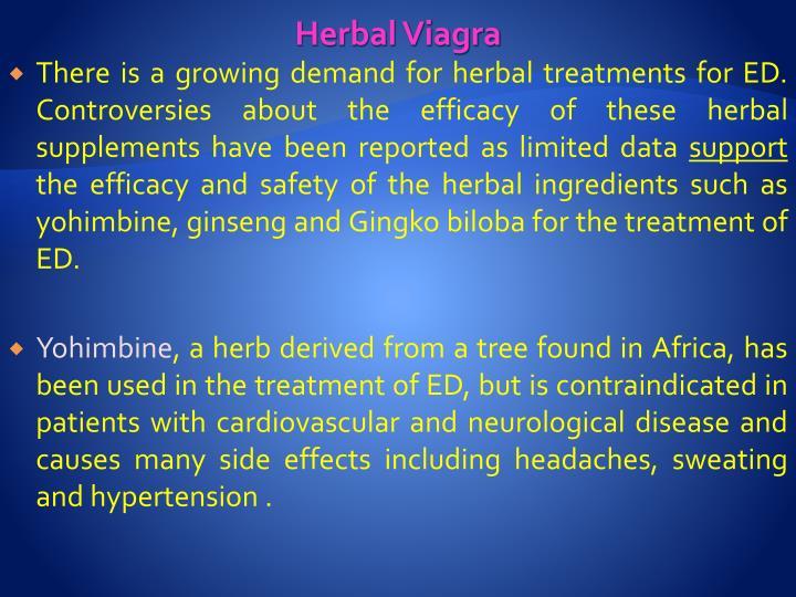 Herbal Viagra