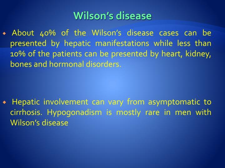 Wilson's disease