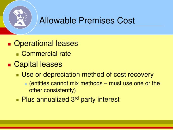 Allowable Premises Cost
