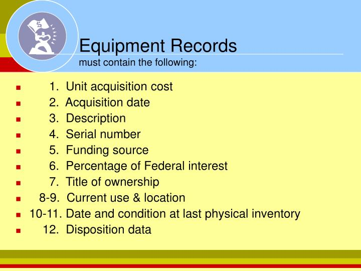 Equipment Records