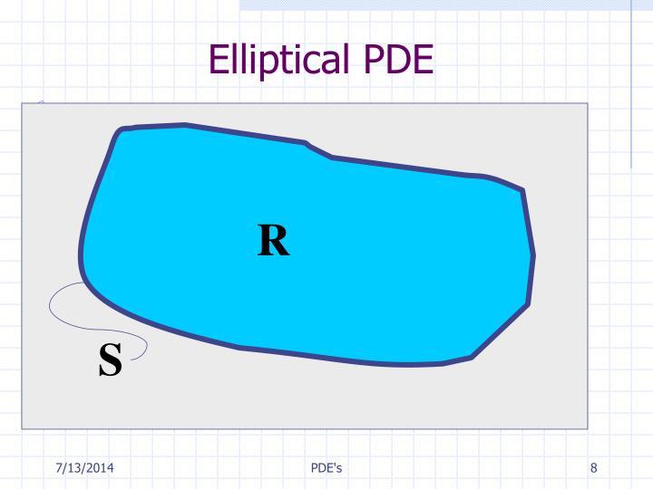 Elliptical PDE