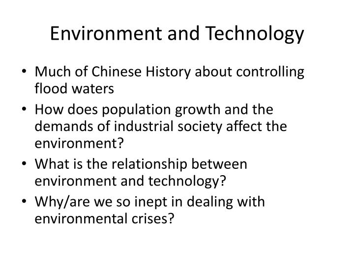 Environment and Technology