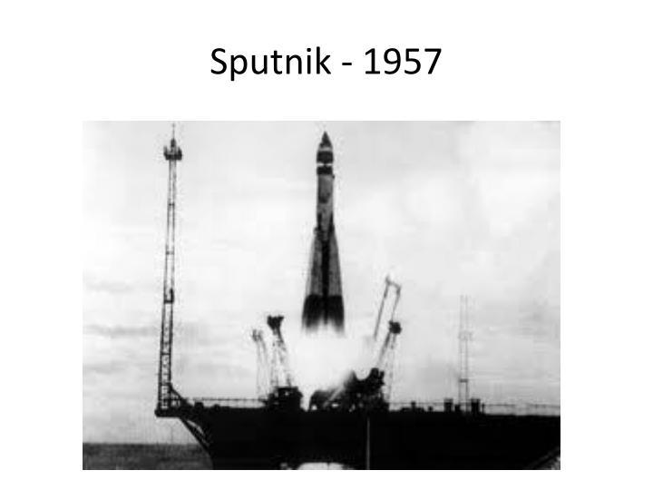 Sputnik - 1957