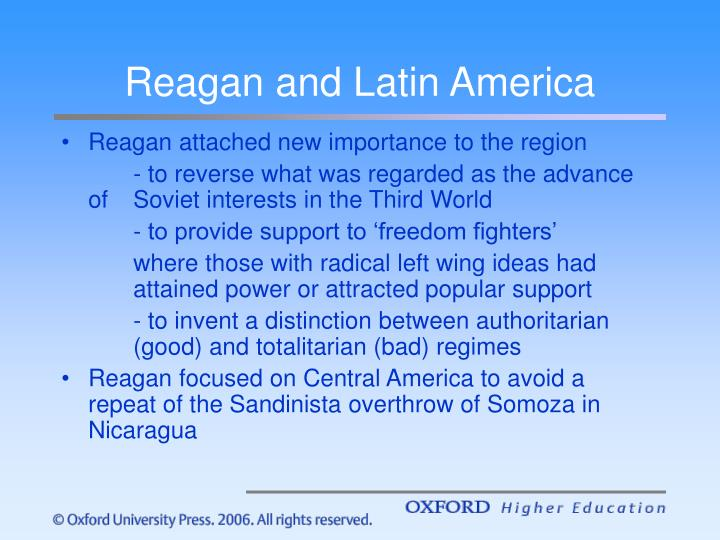 Reagan and Latin America