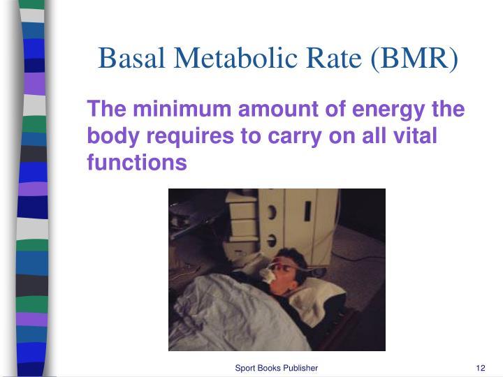 Basal Metabolic Rate (BMR)