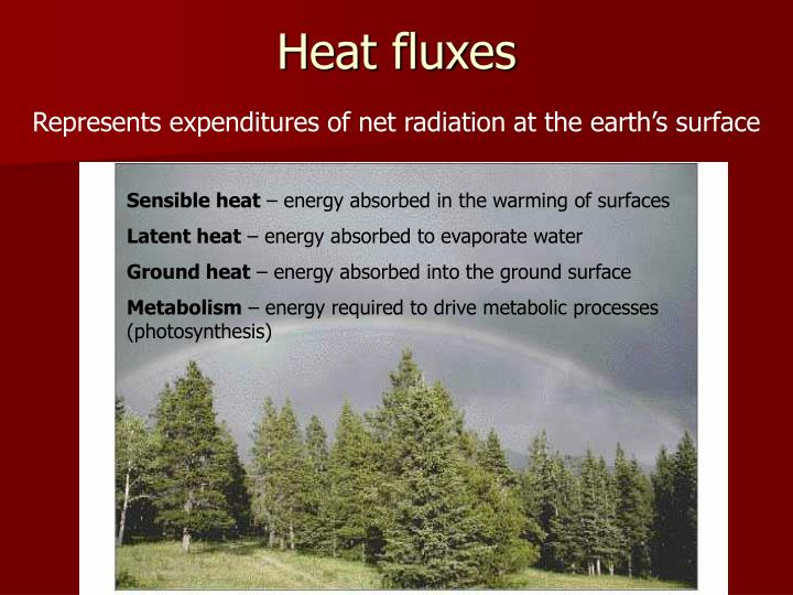Heat fluxes