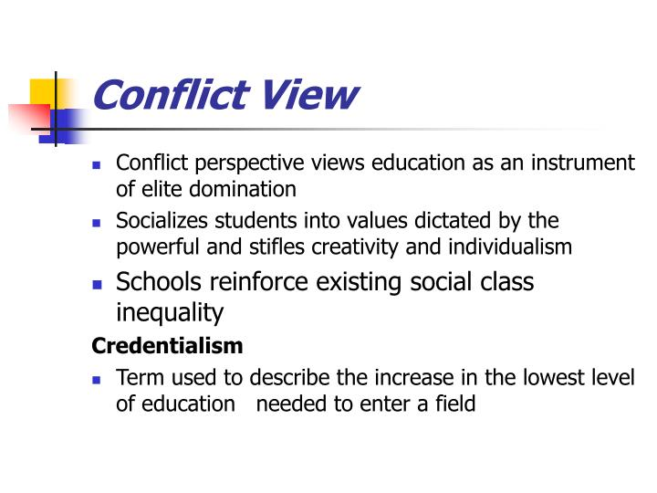 Conflict View