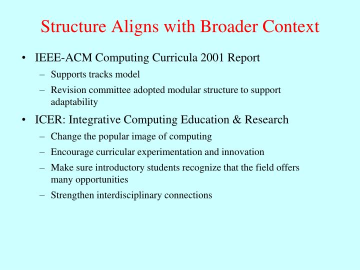 IEEE-ACM Computing Curricula 2001 Report