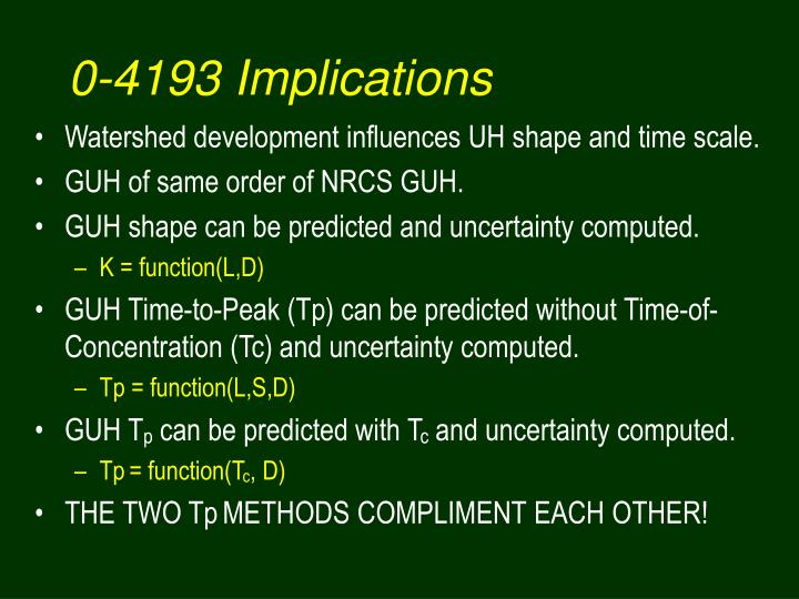 0-4193 Implications
