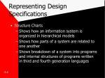 representing design specifications1