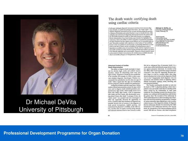 Dr Michael DeVita