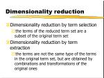 dimensionality reduction2