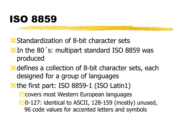 ISO 8859