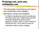 training set test set validation set2