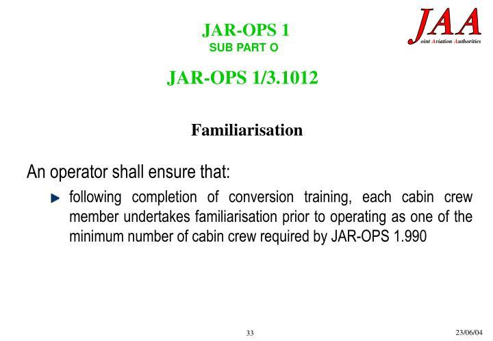 JAR-OPS 1/3.1012