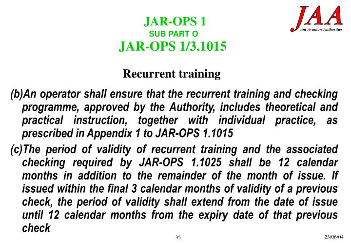 JAR-OPS 1/3.1015