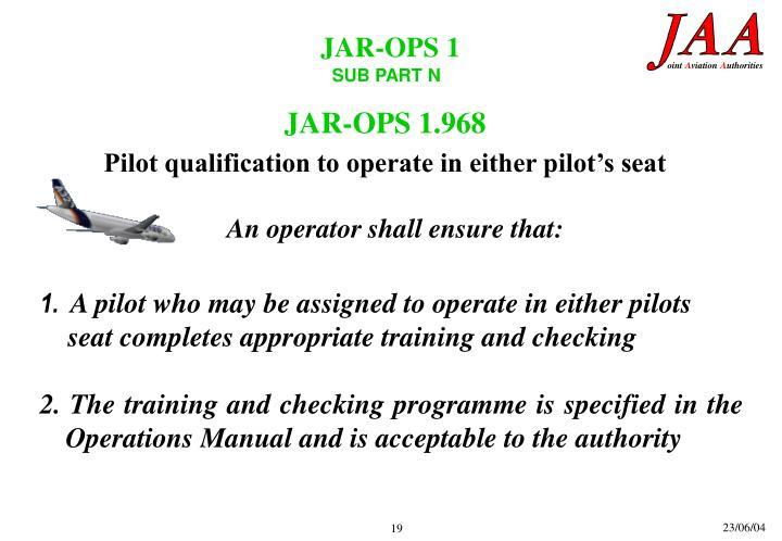 JAR-OPS 1.968