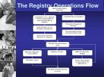 the registry operations flow