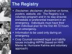 the registry1