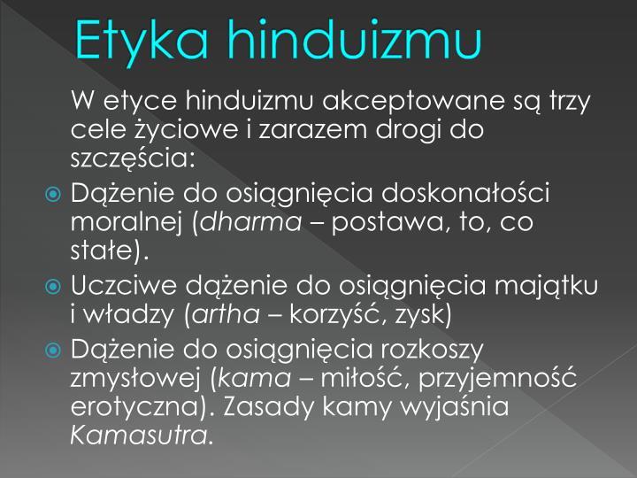 Etyka hinduizmu