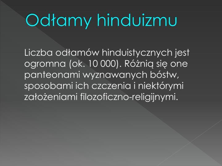 Odłamy hinduizmu