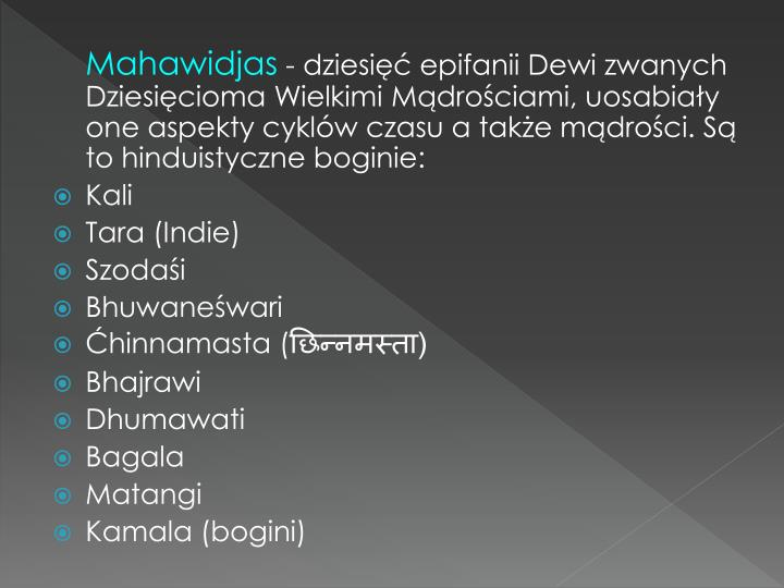 Mahawidjas
