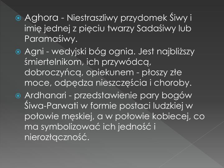 Aghora -