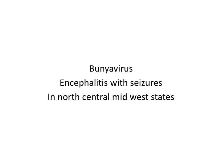 Bunyavirus