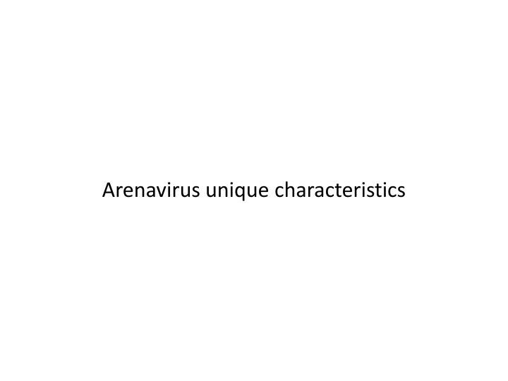 Arenavirus