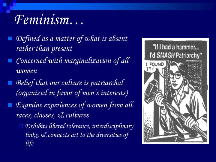 Feminism…