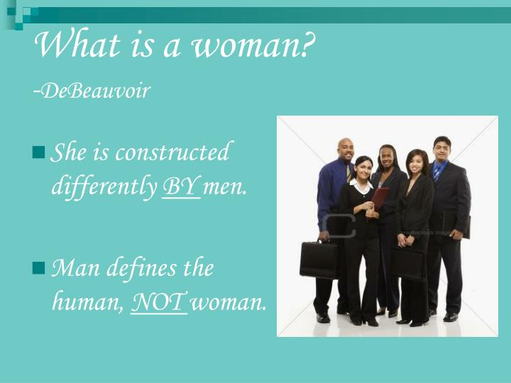 What is a woman?
