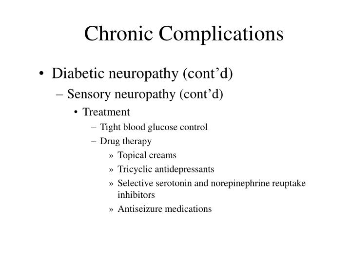 Chronic Complications