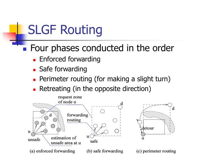 SLGF Routing