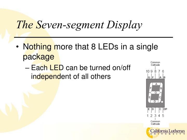 The Seven-segment Display